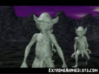 3d aliens üzerinde bir sansürlenen!