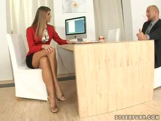 vers mooi, cumshot, secretaresse video-