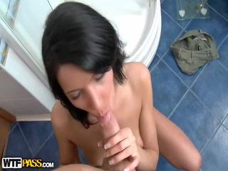 Hot Naked Girl Fuck And Suck In Bathroom