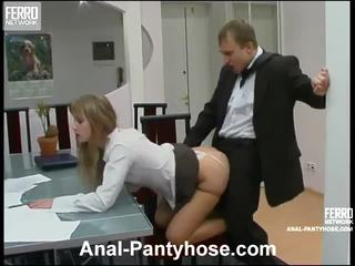 Diana And Adrian Smut Anal Stockings Act