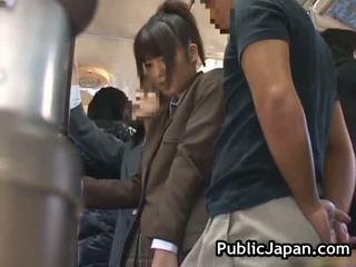 giapponese, sesso pubblico, voyeur, pompino