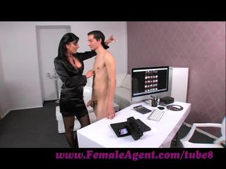 Femaleagent. virgin gets expert guidance से मिल्फ