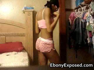 Kinky Teen Girlfriends Dancing In Front Of Her Cam