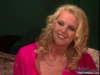 Hannah harper looks jako piękne jako kiedykolwiek jako ona gets jej wagina stuffed