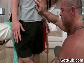 Man Gets His Tiny Little Cute Butthole Rubbed 1 By Gotrub