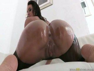 Luscious ポルノの スター franceska jaimes 大きい 尻 pounded