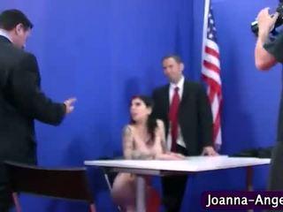 Joanna enkeli perseestä kova sisään vimma