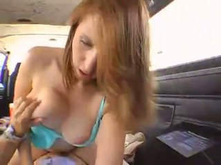 pretty hitchhiker gets fucked in the backseat