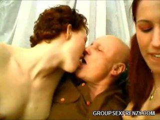 Hot Redheads Group Bang