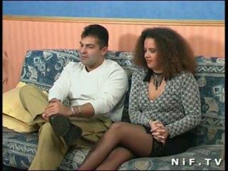 Französisch amateur pärchen doing anal sex im vorderseite von uns