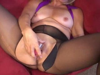 Mature getting horny when playing games Video