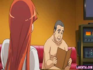 Hentai babeh slammed by older man