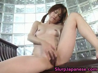 Alluring Teen Jun Nada Masturbating