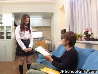 Hot School Nymph Hinayo Motoki Wet