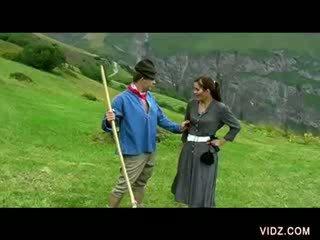 Schweiziska mountains fan fest