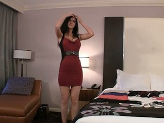 real brunette clip, see coed channel, all college girl film