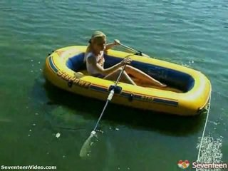 Playing In The Rubber Boat