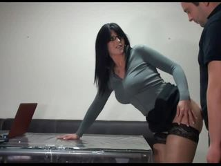 neuken neuken, plezier kantoor neuken, secretaresse klem