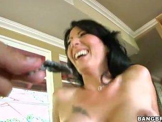 online brunette video-, heetste hardcore sex scène, heetste pijpen neuken