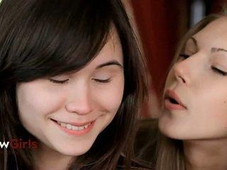 brunette tube, heetste jong film, controleren vrouwvriendelijke