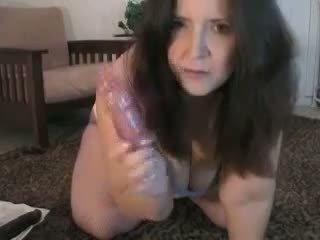 Pieauguša lielas skaistas sievietes anāls vebkāmera