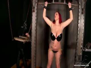 brunette, controleren grote borsten, fetisch seks