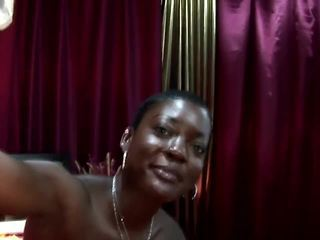 Ebony hooker assfucked by tourists cock