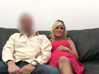 Dulkinimasis nėštumas blondinė į the perklausa.