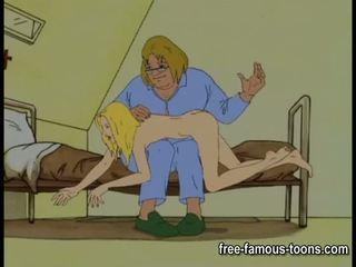 Innocent dekleta seduced in spanked