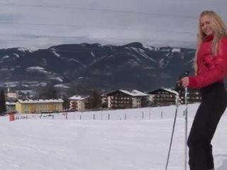 Eroberlin anna safina російська блондин лижа австрійка відкритим публічний