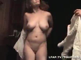 große brüste, jeder pipi, heiß französisch beobachten