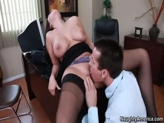 Holly West Gets Fucked In The Office Video
