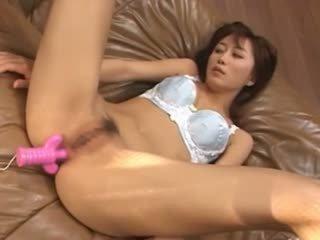 anaal neuken, masturbatie, mooi aziatisch porno