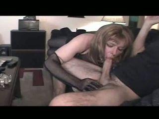 orale seks, crossdresser neuken, vol lingerie klem