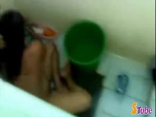 Indian Amateur Bhabhi in Bath - Hidden Capture