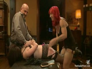 After Several Unfortunate Mistakes, O Is Bent Over A Table And Spanked. The Steward Places Her Moth Between Siouxies Legs And Demands That She Pleas