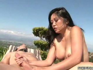 Lusty Kaiya Lynn Acquires A Warm Batter She Truly Deserves After A Hot Handjob