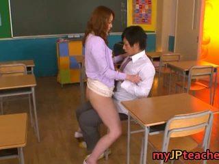 Guru enjoying besar kontol