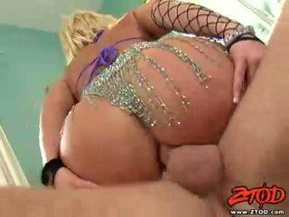Breasty गोरा georgia peach gets asspounded और gets एक गंदा कमशॉट