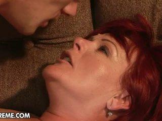 Redheaded Eszmeralda's Gonzo Sex!