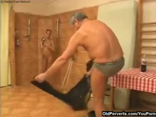 Cutie wants old man's cock