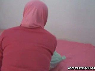 漂亮 阿拉伯 孩兒 being 性交 所以 硬 在 她的 的陰戶.