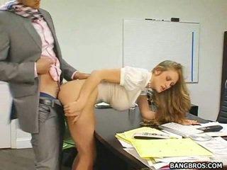 alle grote tieten seks, plagen video-, echt kantoor neuken