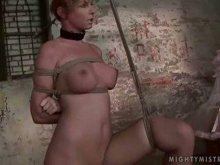 عشيقة painfully punishing لها slavegirl