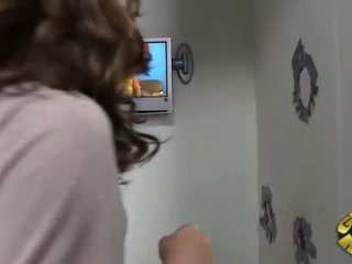 Remy Lacroix gets surprised at Gloryhole