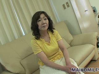 brunette, japanese, creampie, mature