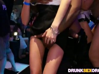 Drunk party babes loving big dicks and pussy fuck
