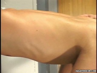 Cocksuck And Anal Inside A Locker Room