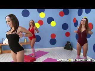 Aerobics instructor loves i madh kar