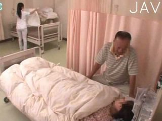 japanese, doctor, uniform, handjob